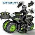 Erstellen Mini moto Kinder moto rcycle Elektrische Fernbedienung RC Auto mini moto rcycle 2,4 Ghz Racing moto rbike Junge spielzeug für kinder