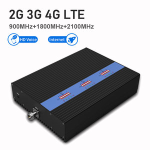 Image 2 - Lintratek Powerful 80dB Tri Band Signal Booster KW25A Pro. GSM 900Mhz UMTS 2100mhz 2G 3G 4G LTE 1800Mhz Mobile Signal Amplifier