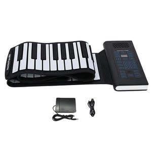 Roll Up Piano 61Keys Rechargea