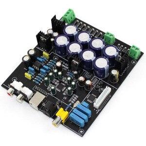 Image 5 - Sem cartão filha usb ak4490 + ak4118 op amp ne5532 decodificador de controle macio dac placa decodificador de áudio F2 011