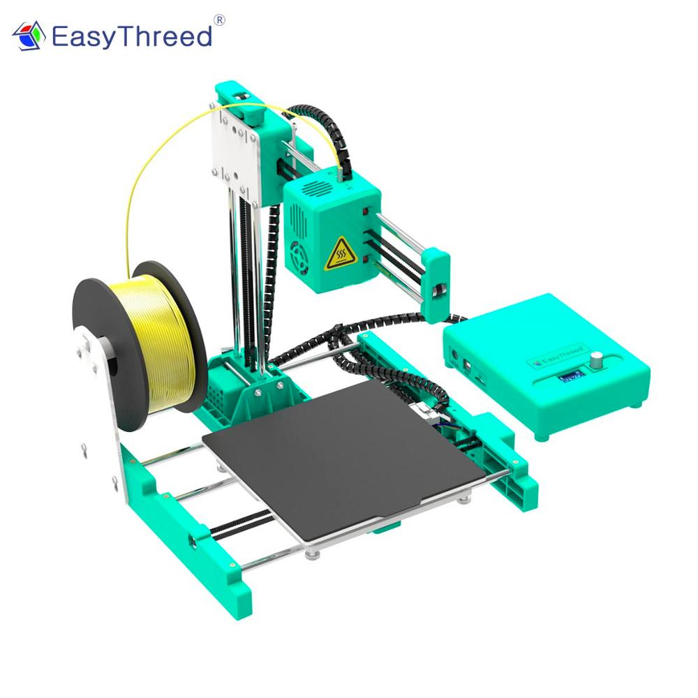 Easythreed X4 150X150mm LCD FDM Mini 3D Printer LCD Cheap 3d Printers 3dprinter With Heatbed Small Impresora