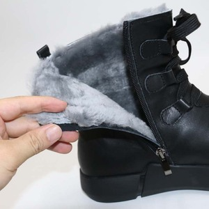 Image 5 - Wool mens BootsWarm mens BootsMens warm shoes in winter100% real wool shoesSnow bootsSnow mens shoes