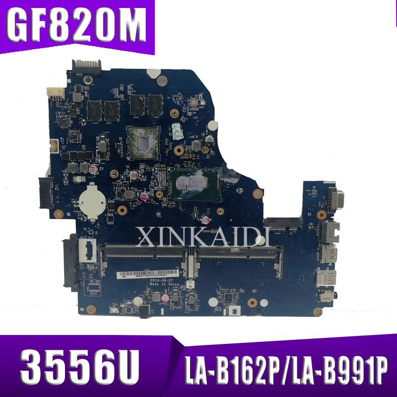 Z5WAH LA-B162P/LA-B991P NBMLC11004 NB.MLC11.004 Mainboard For Acer Aspire E1-572G E5-571 E5-571G Motherboard 3556U CPU GT820M