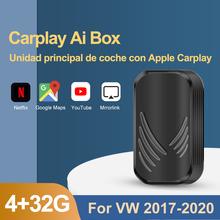 Android Box Carplay Ai Box Для VW 4 + 32G автомобильный мультимедийный плеер Android 4,2 Car-Play USB Беспроводная Mirrorlink Bluetooth