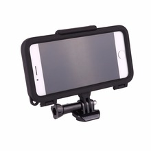 Extreme Sports Fixed Phone Case Bumper with 170 Degrees Wide Angle Lens for iPhone