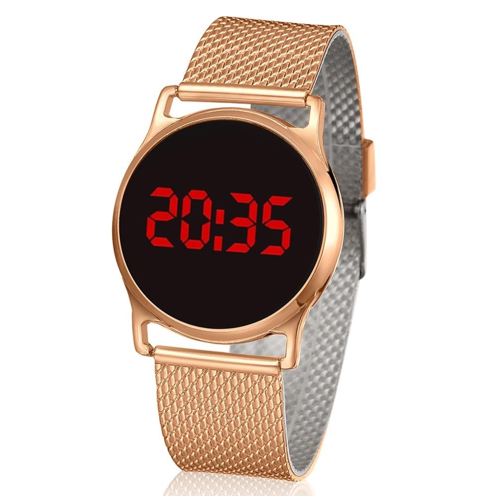 2020 Men Sport Digital Watches Men's Army Military Women Watches LED Ladies Watch Rose Gold Electronic Watches Reloj Mujer