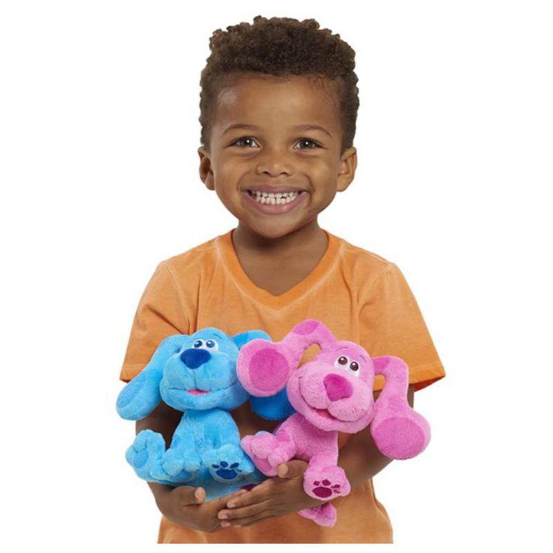 2 шт./компл. синие ключи и вы! Beanbag плюшевая синяя и пурпурная щенок собака мягкая плюшевая игрушка