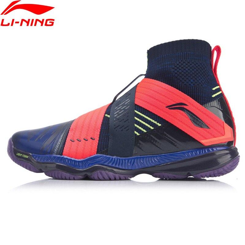 Li-Ning, Мужская профессиональная обувь для бадминтона RANGER 4,0, подстилка, светильник, подкладка из пены, li ning Cloud, спортивная обувь, кроссовки AYAP015 XYY135-1