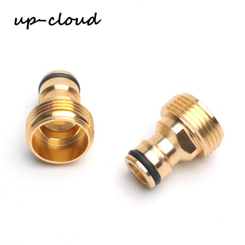2pcs Aluminum Male 3/4
