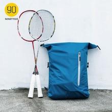 NINETYGO 90FUN Lightweight Backpack Foldable Bags Sports Travel Waterproof Casual Daypack for Women Men 20L Blue/Black