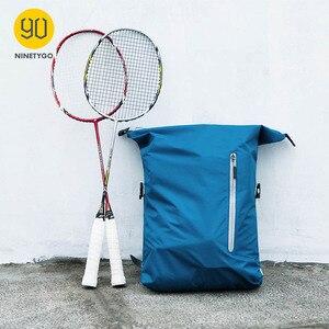 Image 2 - Ninetygo 90FUN軽量バックパック折りたたみバッグスポーツ旅行防水カジュアルデイパックのため女性男性 20Lブルー/黒