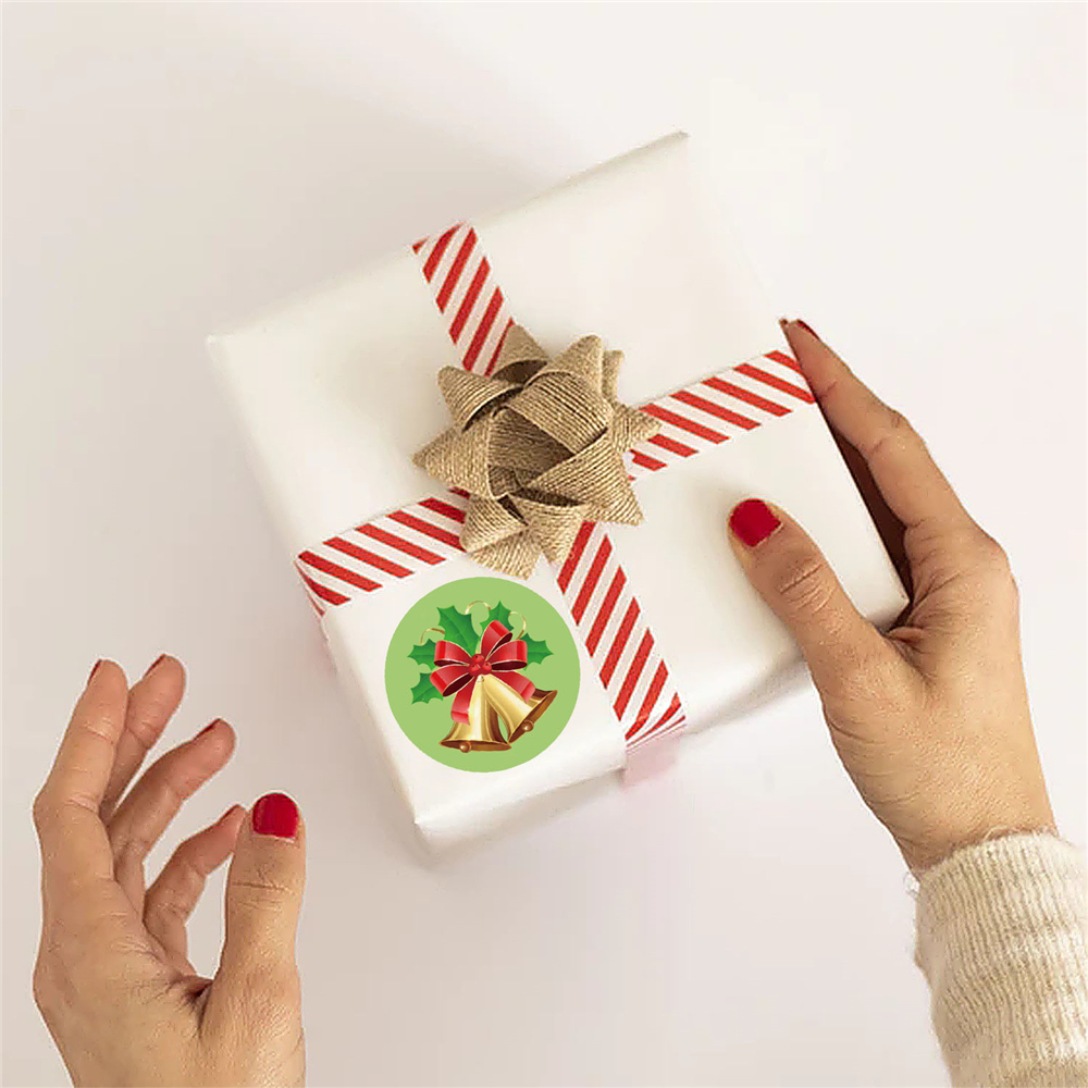 de natal para embrulhar etiquetas da caixa presente 03