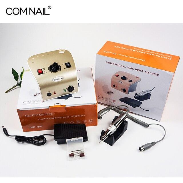 Маникюрный аппарат 65 Вт, электрические сверла для ногтей, набор для ногтей, фреза, электрический инструмент для удаления гель-лака