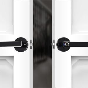 Image 4 - Biometrische Schloss Semiconductor Fingerprint Lock Smart Türschloss Automatische Sicherheit Tür Elektronische Schloss Für Home Office