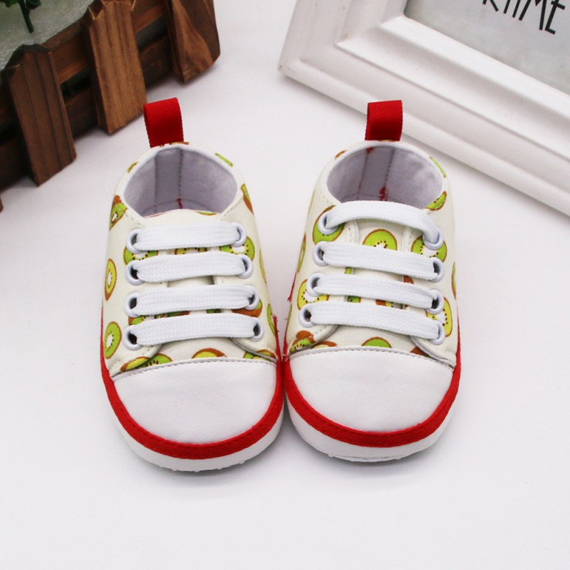 Baby Girl Shoes Avocado Floral Embroidered Soft Shoes Prewalker Walking Toddler Kids First Walkers Hot