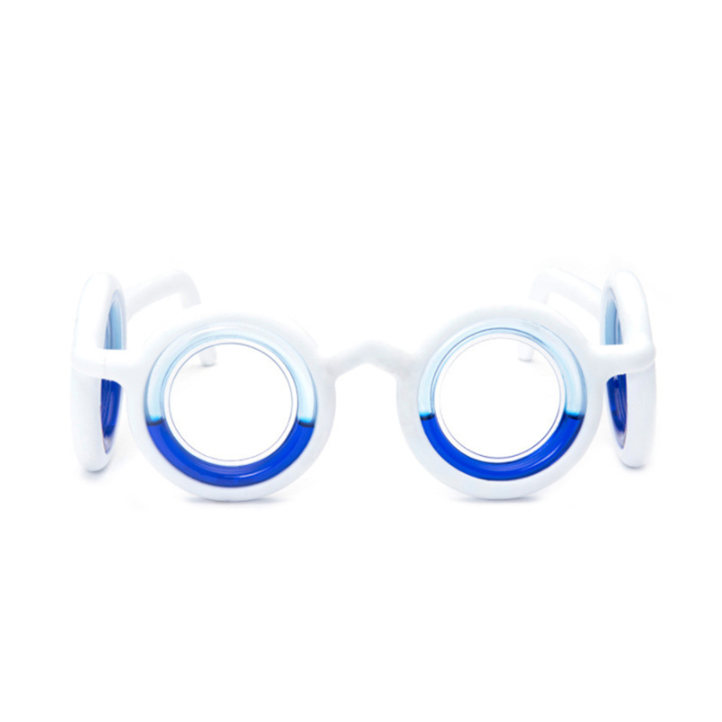 Anti-motion Sickness Glasses Smart Seasick Airsick Liquid Lens-free Removable Folding Portable Anti-sports Glasses