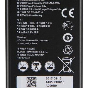 Image 2 - Original Ersatz HB505076RBC Batterie Für Huawei A199 G606 G610 G610S G700 G710 G716 C8815 Y610 Y3 ii Telefon Batterie 2100mAh