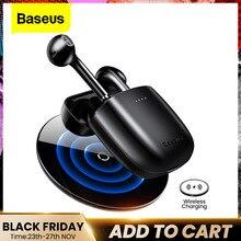 Baseus W04 TWS Bluetooth Thật 5.0 Tai Nghe Nhét Tai Không Dây Tai Nghe Âm Thanh Nổi Cho Xiaomi Tay Nghe Tai Điện Thoại Thể Thao Tai Nghe
