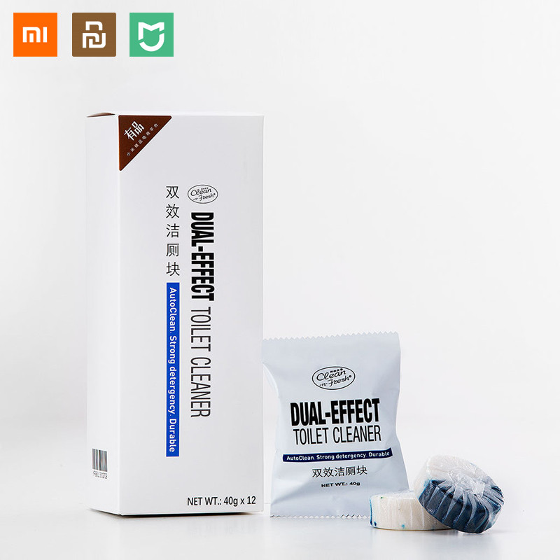 Xiaomi Clean-n-Fresh Automatic Flush Blue Toilet Cleaner Bubble Deodorization Cleaning Household For Bathroom Restroom Cleaner
