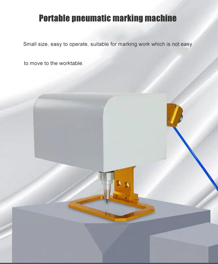 Portable Handheld Dot Peen Marking Machine Mini Marking Machine Chasiss Marking Machine