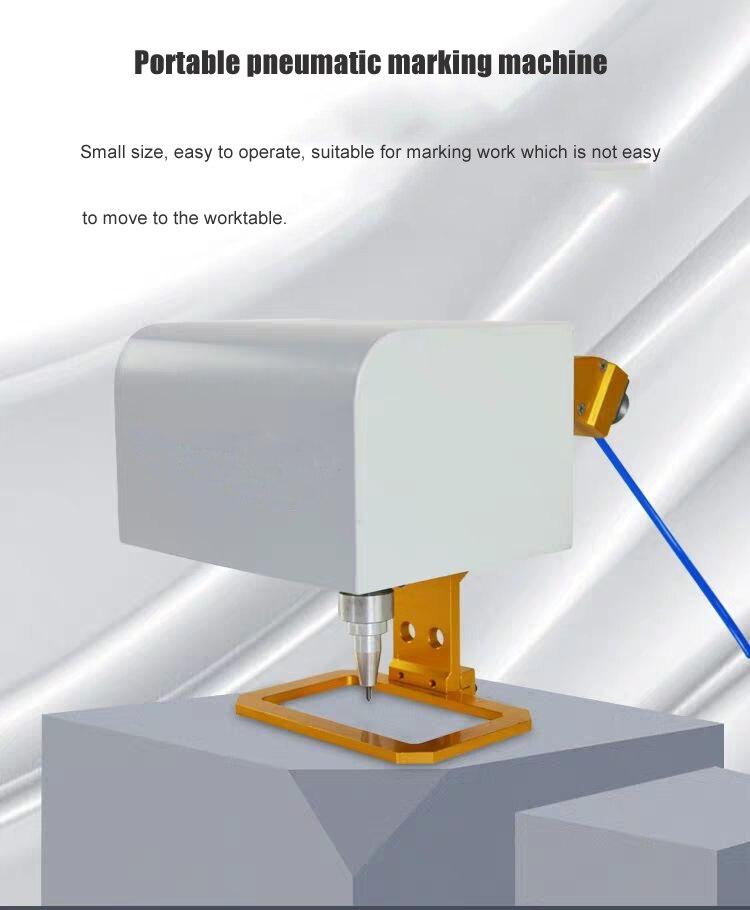 Stamp It Marking Machine Cheap Metal Steel Marking Engraving Machine