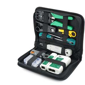 RJ45 Connector Pliers-Tool-Kit-Set Screwdriver Network-Cable-Tester-Tool Wire-Stripper