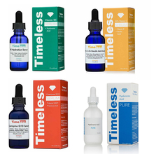 Senza tempo Siero Vitam B5 Siero di Acido Ialuronico 20% di VITAMINA C + E Ferulico 1 OZ Antiossidante Sbiancante Viso CEF Siero anti Rughe