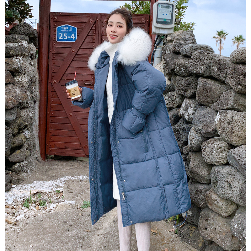 New arrival 2019 women winter long parka cotton padded warm coats fash_A8_9