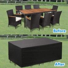 Chair-Table-Cover Beach-Protector Patio Garden Sofa Rain Snow Waterproof 5size