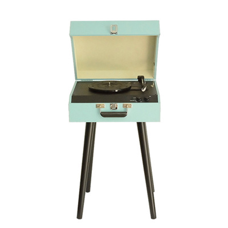 Record player retro gramophone portable record player stereo turntable player vinyl bluetooth record player bluetooth speaker