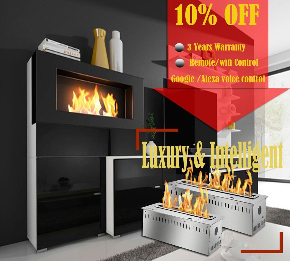 On Sale 48 Inch Bio Ethanol Fuel Decorative Fire Fireplace Burner