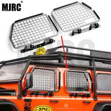 4pcs Metal Foldable Car Window Protective Net For 1/10 Rc Crawler Car Defender Traxxas Trx4 TRX 4 Window Guard Net Guardrai