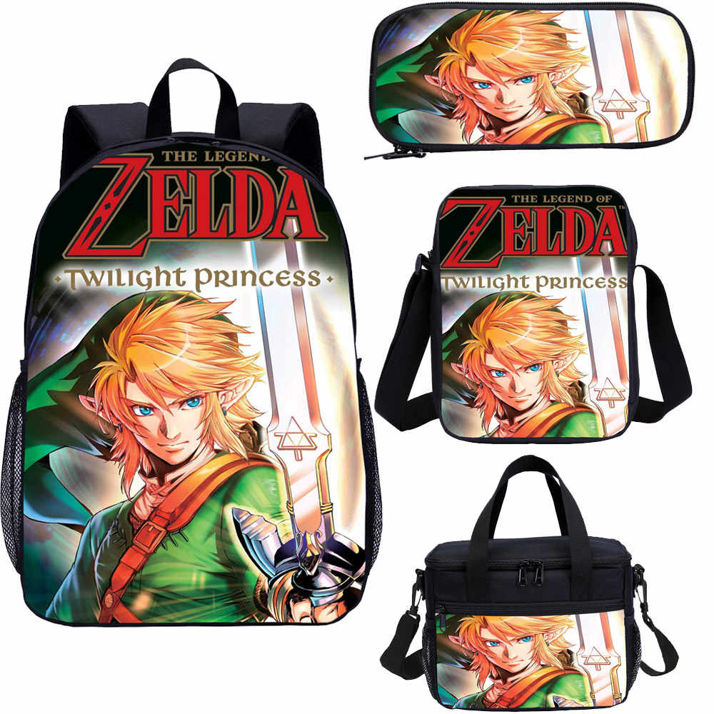 13/'/' Game Zelda Children Small Schoolbag Kindergarten Backpack Boys Girls Gifts