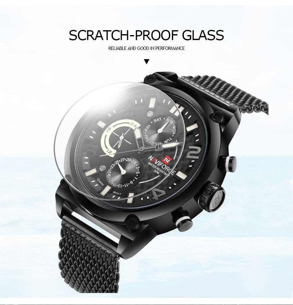 NAVIFORCE NF9068S Men's Waterproof Sport Watch H199660b0a7dc452e803a12abe847826aX