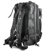 30L  Outdoor Military Rucksacks Backpack Camping Hiking Trekking Bag   Black Climbing Bags     -