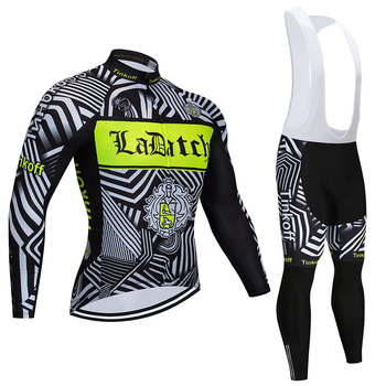 2019 Tinkoff Pro equipo de manga larga de Ciclismo Jersey de carreras...