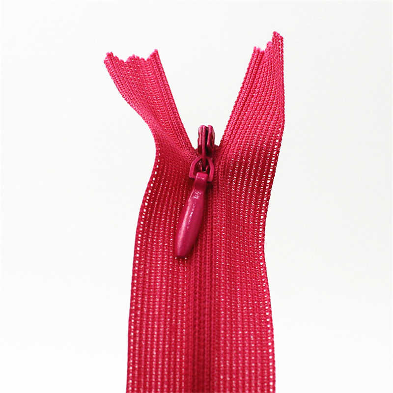 60cm görünmez fermuarlar DIY naylon bobin fermuar dikiş elbise için yastık yastık terzi aracı