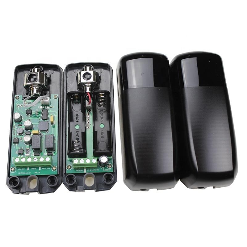 Battery Power IP54 10m INFRARED SAFETY BEAM PHOTOCELL AUTOMATIC GATE DOOR GARAGE SHUTTER BARRIER SENSOR
