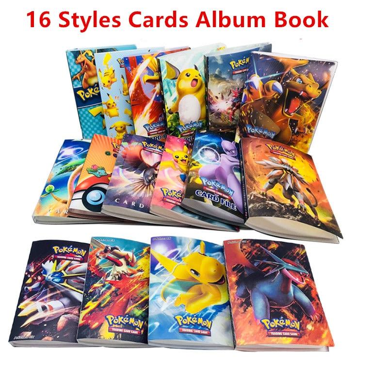 kids-gift-cartoon-anime-pocket-monster-pikachu-240pcs-holder-album-toys-dragon-ball-collection-font-b-pokemon-b-font-cards-album-book-top