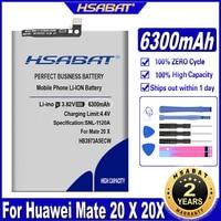 HSABAT HB3973A5ECW 6300mAh Batterie für Huawei Ehre Hinweis 10 RVL-AL09 RVL-AL10 Mate 20 X 20X Mate20X EVR-AL00 / Honor 8X Max