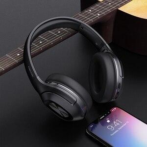 Image 5 - デイコム HF002 Bluetooth ヘッドセット有線ワイヤレスステレオヘッドホン内蔵マイクデュアルドライバ 4 スピーカーテレビ iphone サムスン Xiaomi