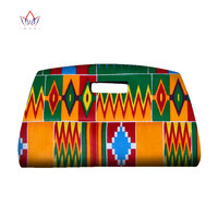 Handmade African Wax Print Hand Bags For Party Or Wedding Women Ankara Fashions Bag African Fabric Accessories SP049