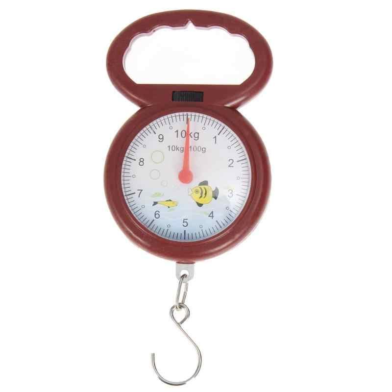 10kg pesant le pointeur numérique portatif Balance à ressort Balance suspendue épicerie Shopping crochet Type juste échelle