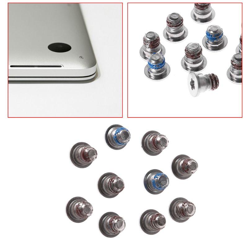 10pcs Screws For MacBook Pro Retina 13.3 Inch 15.4 Inch A1502 A1425 A1398 Bottom Back Case Cover Screws