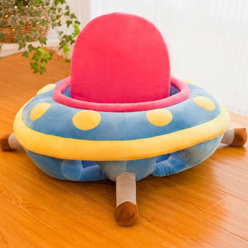 Creative UFO Baby Learn To Sit On A Sofa Chair Infant Practice Sitting Posture Stool Anti-fall Baby Safety Seat Sofa Free Hands