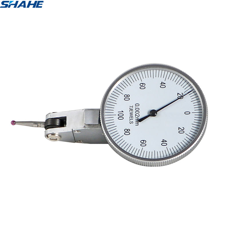 shahe dial test indicator 0 002 mm Shockproof  dial indicator gauge  dial test indicator gauge measure gauge tool