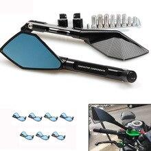 אופנוע אחורית מראה RIZOMA ספורט רכב Rearview מראה אלומיניום סגסוגת מראות אחוריות אופנוע אביזרי אוניברסלי