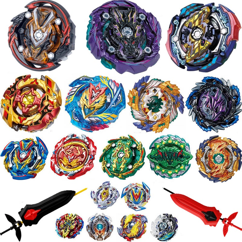 Top Launchers Beyblade GT Burst B-142 B-143 Arena Toys Sale Bey Blade Blade And Bayblade Bable Drain Fafnir Metal Blayblade
