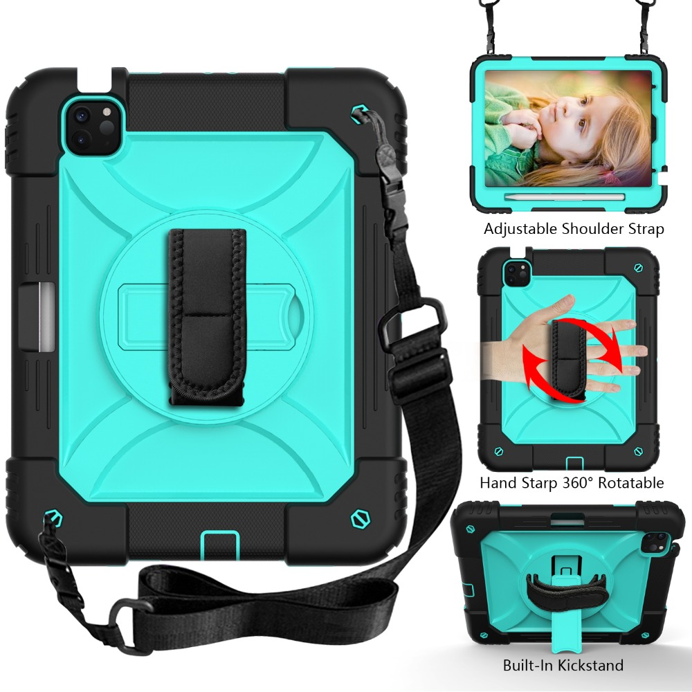 Tablet Case Air For Hybird iPad for 4 2020 Armor iPad Kids Shockproof 10.9 Case Layers 3