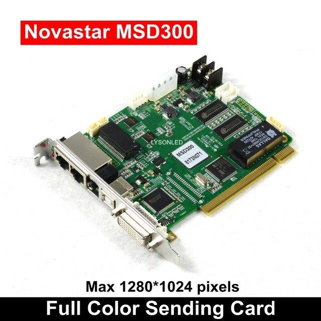 Novastar MSD300 Sincrono di Colore Completo di Invio di Carta per la Pubblicità Grande Parete Video A Led 1280*1024 Pixel